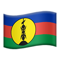 Flag Of New Caledonia Emoji