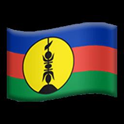 Flag Of New Caledonia Emoji