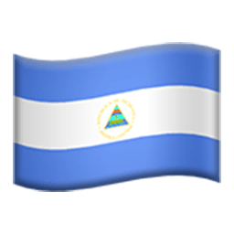 Flag Of Nicaragua Emoji