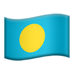Flag Of Palau Emoji