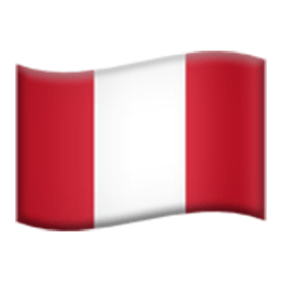 Flag Of Peru Emoji