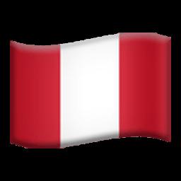 Flag Of Peru Emoji