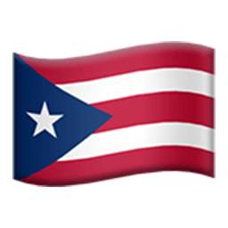 Flag Of Puerto Rico Emoji