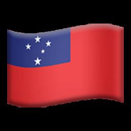 Flag Of Samoa Emoji