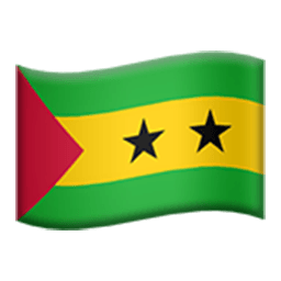 Flag Of São Tomé And Príncipe Emoji
