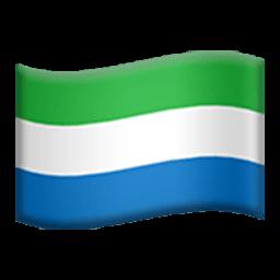 Flag Of Sierra Leone Emoji