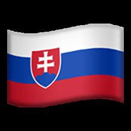 Flag Of Slovakia Emoji