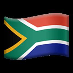 Flag Of South Africa Emoji