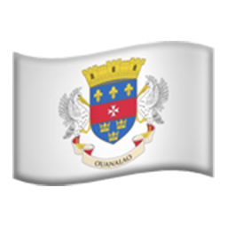 Flag Of Saint Barthélemy Emoji
