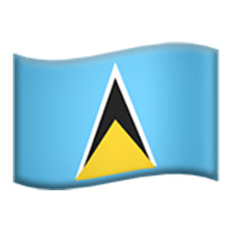 Flag Of Saint Lucia Emoji