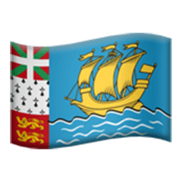 Flag Of Saint Pierre And Miquelon Emoji