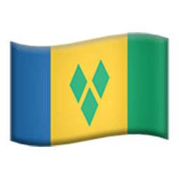 Flag Of Saint Vincent And The Grenadines Emoji