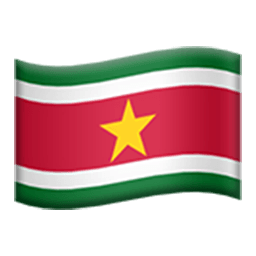 Flag Of Suriname Emoji