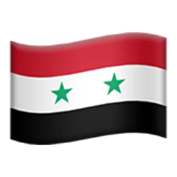 Flag Of Syria Emoji