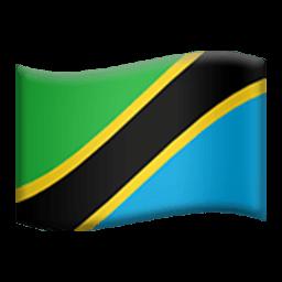 Flag Of Tanzania Emoji
