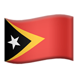Flag Of Timor-Leste Emoji
