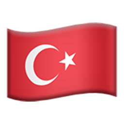 Flag Of Turkey Emoji
