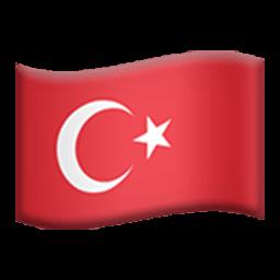 Flag Of Turkey Emoji