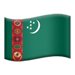 Flag Of Turkmenistan Emoji