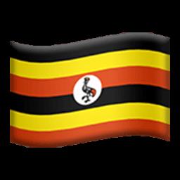Flag Of Uganda Emoji