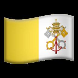 Flag Of The Vatican City Emoji