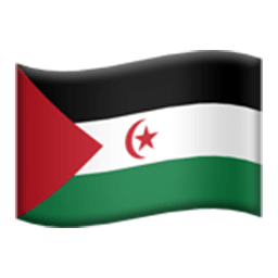 Flag Of Western Sahara Emoji