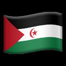Flag Of Western Sahara Emoji