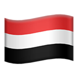 Flag Of Yemen Emoji