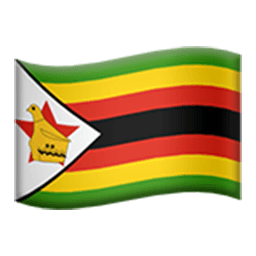 Flag Of Zimbabwe Emoji