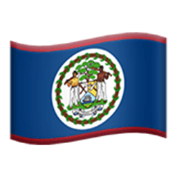 Flag Of Belize Emoji