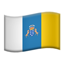 Flag Of Canary Islands Emoji