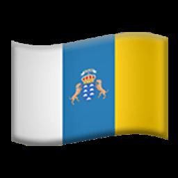 Flag Of Canary Islands Emoji