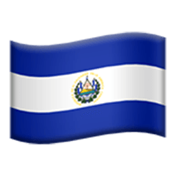 Flag Of El Salvador Emoji