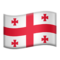 Flag Of Georgia Emoji
