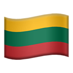 Flag Of Lithuania Emoji