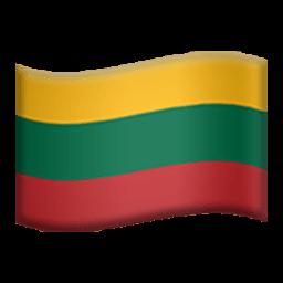Flag Of Lithuania Emoji