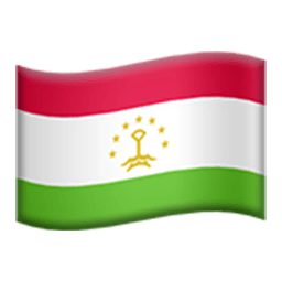 Flag Of Tajikistan Emoji