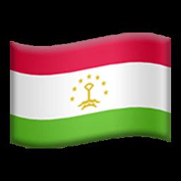 Flag Of Tajikistan Emoji