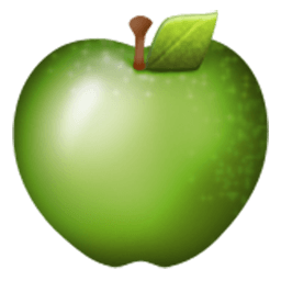 Green Apple Emoji