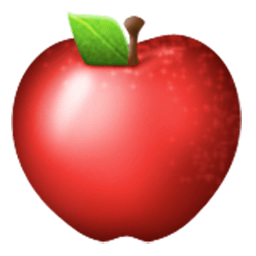 Red Apple Emoji