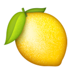 Lemon Emoji