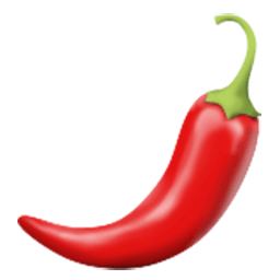 Hot Pepper Emoji