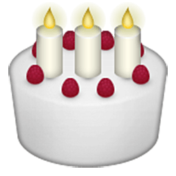 Birthday Cake Emoji for Facebook Email SMS ID 401 Emojicouk