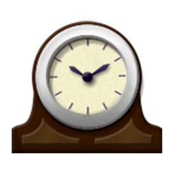 Mantlepiece Clock Emoji
