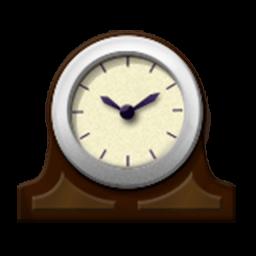 Mantlepiece Clock Emoji