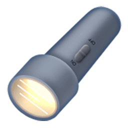 Electric Torch Emoji