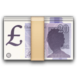 Banknote With Pound Sign