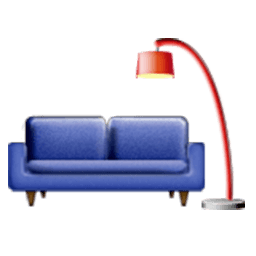 Couch And Lamp Emoji