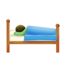 Sleeping Accommodation Emoji