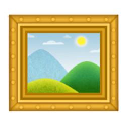 Frame With Picture Emoji